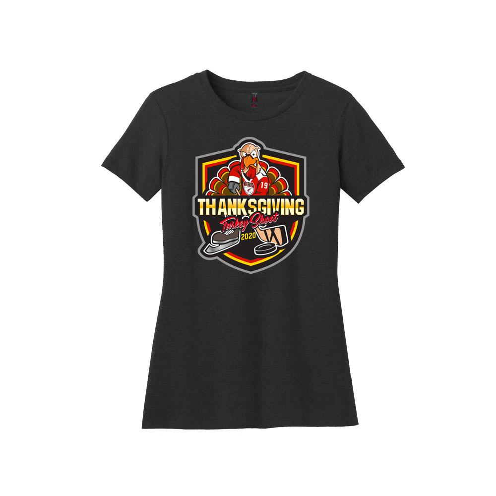 DM108L Women's Short Sleeve T-Shirt Turkey Shoot