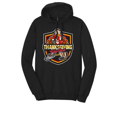 DT810 Men's Women's Pullover Hoodie Hooded Sweatshirt Turkey Shoot