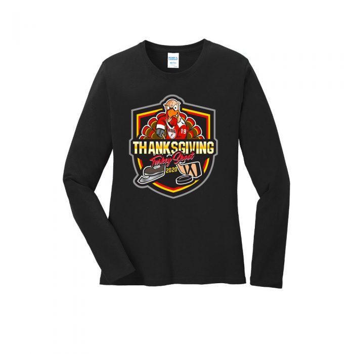 LPC54LS Women's Long Sleeve T-Shirt Turkey Shoot