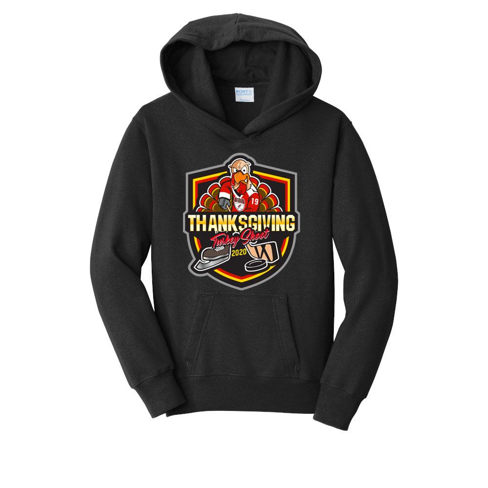 PC850YH Youth Turkey Shoot Hoodie Hooded Sweatshirt