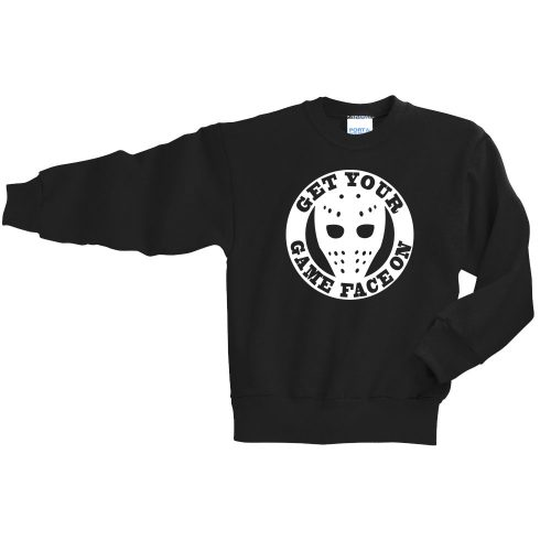 PC90Y youth crewneck hockey sweatshirt