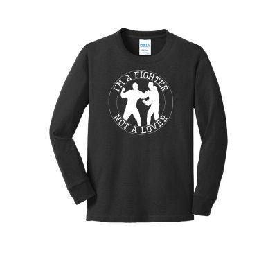 Pc54yls youth long sleeve hockey t shirt