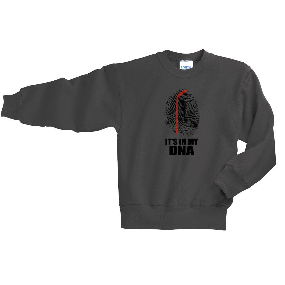 PC90Y youth crewneck hockey sweatshirt